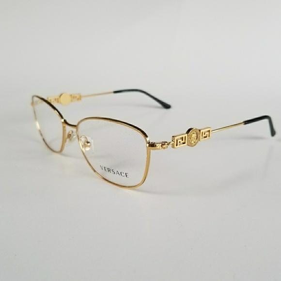 Versace Accessories | Gold Frames | Poshmark